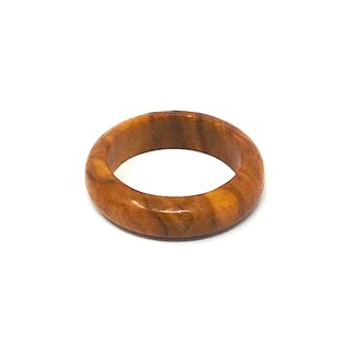 Genuine olive wood finger ring handmade 18mm wooden jewelry olive wood jewelry also as a pendant