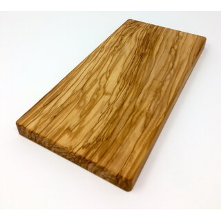 Cutting board 28x14x2.2 cm made of olive wood handmade on Mallorca cheese board serving board